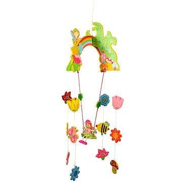 Závěsný kolotoč - Víla s květy