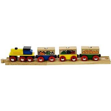 Dřevěné vláčkodráhy - Vlak se zeleninou