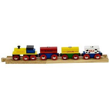 Dřevěné vláčkodráhy - Vlak s potravinami