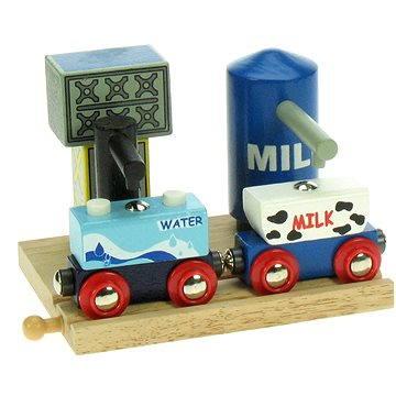 Dřevěné vláčkodráhy - Skladiště mléka a vody
