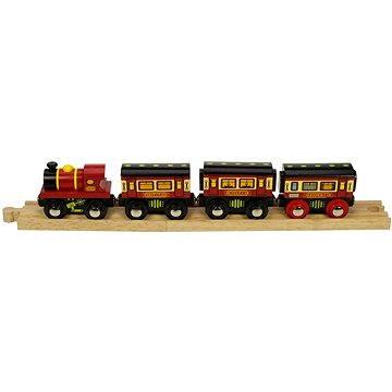 Dřevěné vláčkodráhy - Dálkový vlak