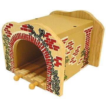 Dřevěné vláčkodráhy - Železniční tunel