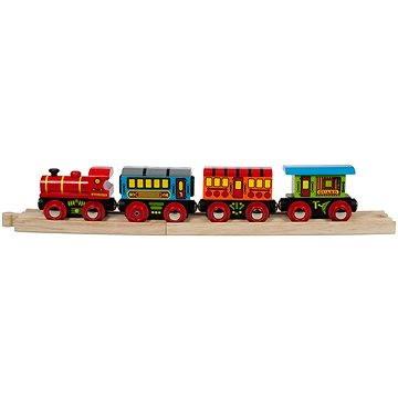 Dřevěné vláčkodráhy - Osobní vlak