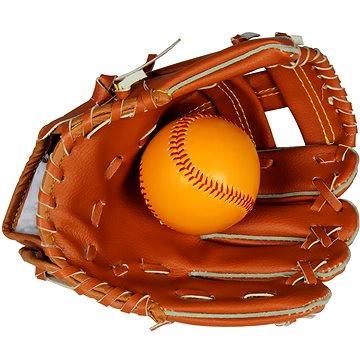 Baseballová rukavice a míč