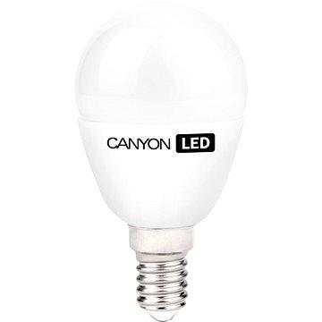 Canyon LED COB žárovka, E14, kompakt kulatá mléčná, 3.3W