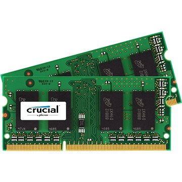 Crucial SO-DIMM 4GB KIT DDR3 1066MHz CL7 pro Apple/Mac