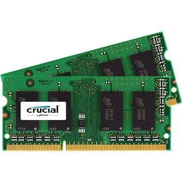 Crucial SO-DIMM 8GB KIT DDR3 1066MHz CL7 pro Apple/Mac