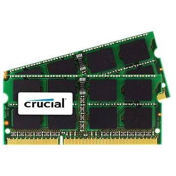 Crucial SO-DIMM 8GB KIT DDR3L 1866MHz CL13 pro Apple/Mac