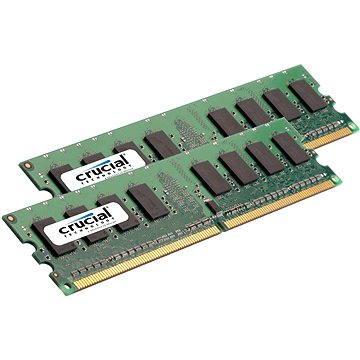 Crucial 4GB KIT DDR2 800MHz CL5 ECC Unbuffered