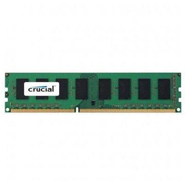 Crucial 4GB DDR3 1600MHz CL11 ECC Unbuffered Dual Voltage