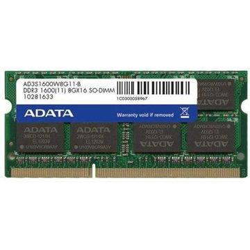 ADATA SO-DIMM 8GB DDR3 1600MHz CL11