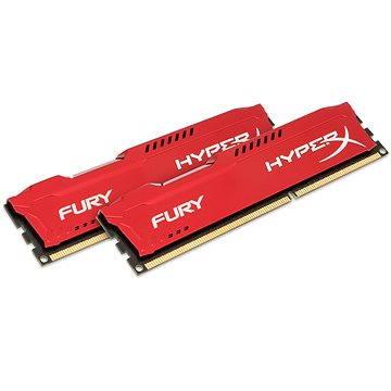 Kingston 8GB KIT DDR3 1600MHz CL10 HyperX Fury Red Series