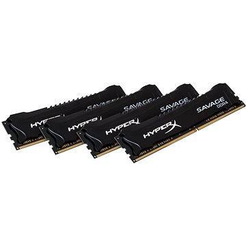 Kingston 32GB KIT DDR4 3000MHz CL15 HyperX Savage Black