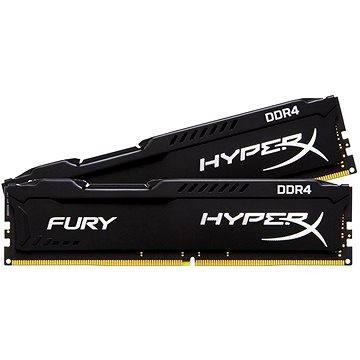 Kingston 16GB KIT DDR4 2400MHz CL15 HyperX Fury Black Series