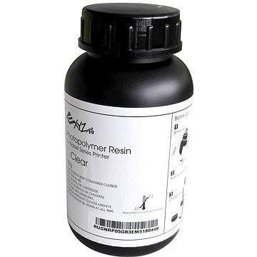 XYZprinting UV Curable Resin Photopolymer 500g Clear
