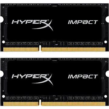 Kingston SO-DIMM 8GB KIT DDR3L 1866MHz HyperX Impact CL11 Black Series