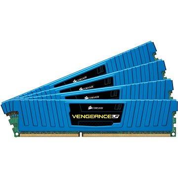 Corsair 16GB KIT DDR3 1600MHz CL9 Vengeance Low profile modrá