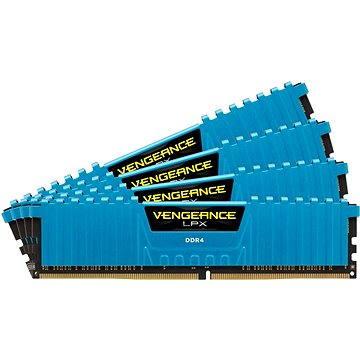 Corsair 32GB KIT DDR4 2666MHz CL16 Vengeance LPX modrá