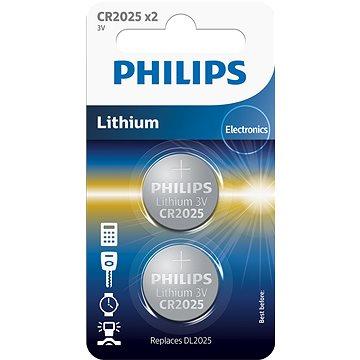 Philips CR2025P2 2ks v balení