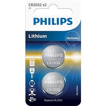 Philips CR2032P2 2ks v balení