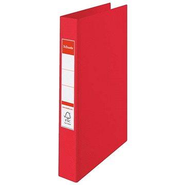 ESSELTE Vivida A4 celoplastový, červený