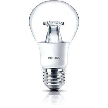 Philips LED 6,5-40W, E27, 2200-2700K WarmGlow, Čirá, stmívatelná