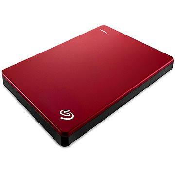 Seagate BackUp Plus Slim Portable 1TB červený+ 200GB OneDrive