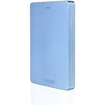 """Toshiba CANVIO ALU 2.5"""" 500GB modrý"""