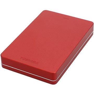 """Toshiba CANVIO ALU 2.5"""" 500GB červený"""