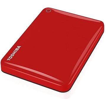 "Toshiba CANVIO CONNECT II 2.5"" 1000GB červený"