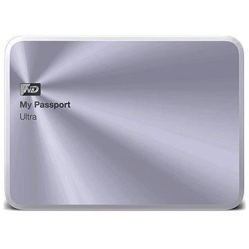 "WD 2.5"" My Passport Ultra Metal 4TB stříbrný"