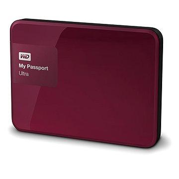 "WD 2.5"" My Passport Ultra 3TB Wild Berry, červený"