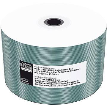 MediaRange CD-R 8cm Printable 50ks shrink