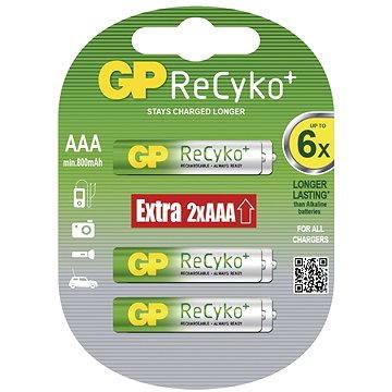 GP ReCyko HR03 (AAA) 4+2ks v blistru