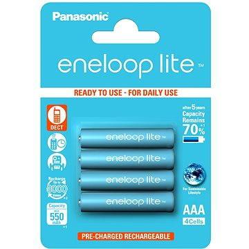 Panasonic eneloop lite AAA 550mAh 4ks