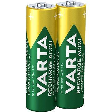 VARTA Power Accu, AA tužkové NiMH 2600mAh, 2ks