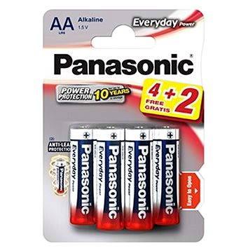 Panasonic Everyday Power AA LR6 4+2ks v blistru