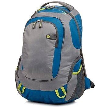 "HP Outdoor Sport Backpack Blue / Green 15.6"""