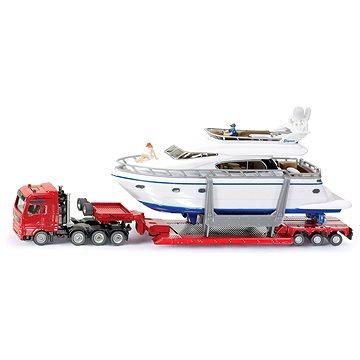Siku Super - Přeprava těžkého nákladu s jachtou