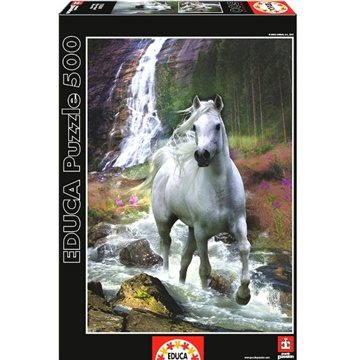 Bílý kůń 500 dílků