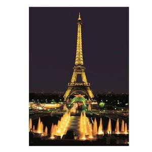 Neonová Eiffelova věž, Paříž
