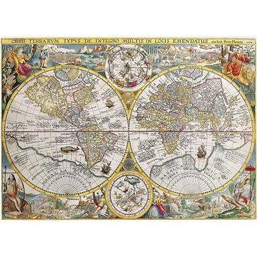 Ravensburger Mapa světa 1594