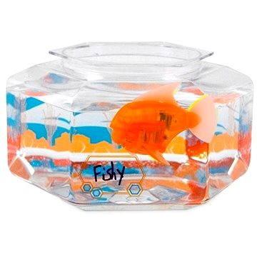HEXBUG Aquabot LED s akváriem oranžovo/modrý