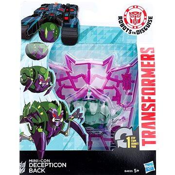 Transformers - Transformace minicona v 1 kroku Decepticon Back