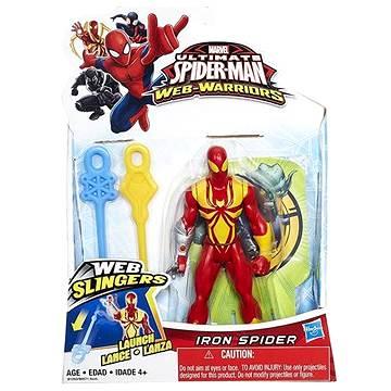 Spiderman - Iron spider vrhající pavučinu