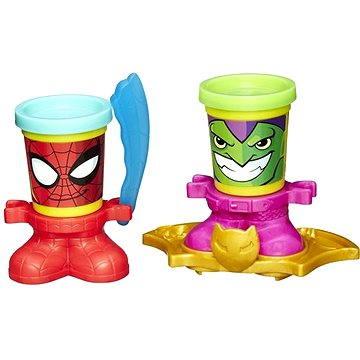Play-Doh Marvel - Kelímky ve staru hrdinů Spiderman & Goblin
