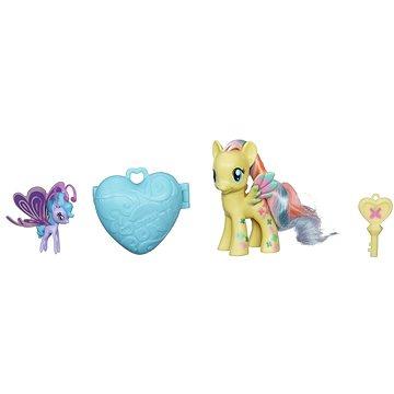 My Little Pony - Poník s kouzelnou klíčenkou a doplňky Fluttershy & Sea Breezie