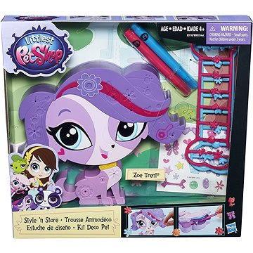 Littlest Pet Shop - Dekorativní zvířátko fialové