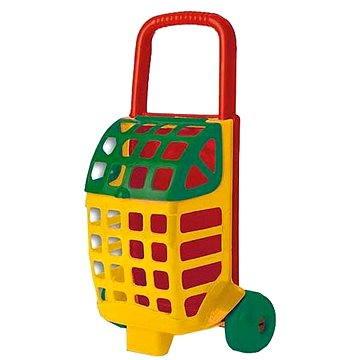 Nákupní vozík plný kostiček