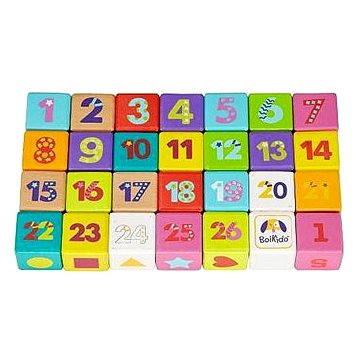 Boikido - Sada barevných kostek 28 ks